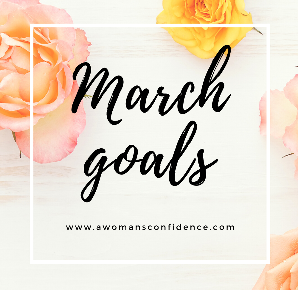 March goals image