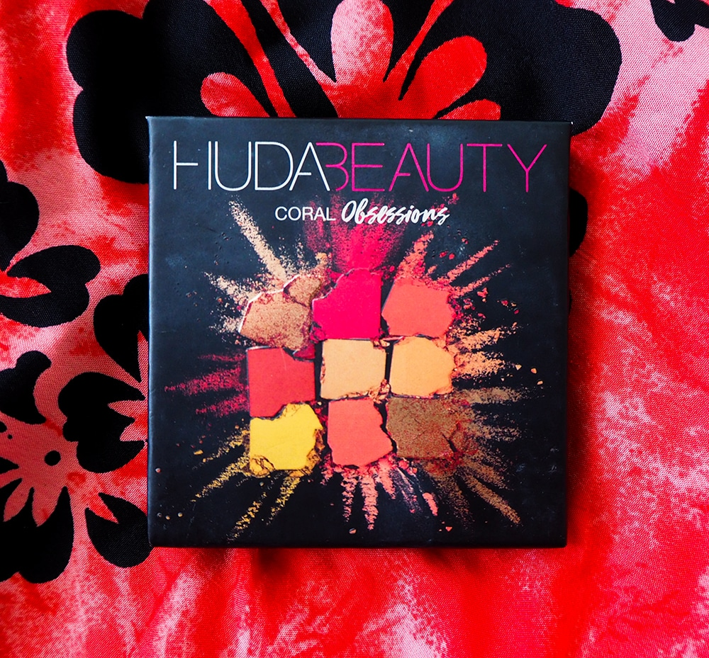 Huda Beauty Coral Obsessions Palette image
