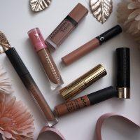 Nude pink lipsticks image