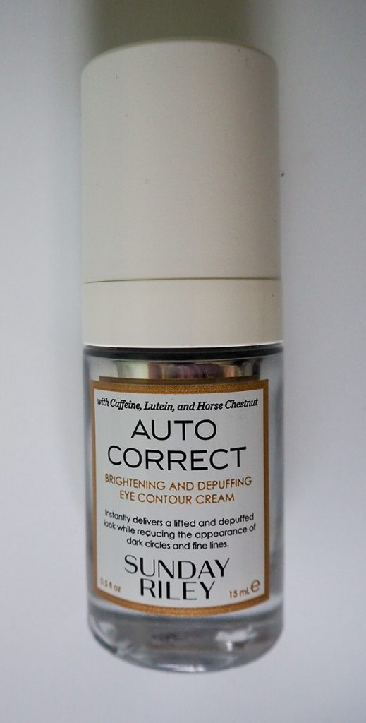 Sunday Riley Autocorrect Brightening and Depuffing Eye Contour Cream image