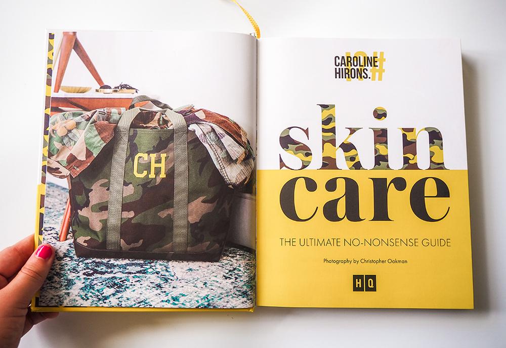 Caroline Hirons Skincare book image