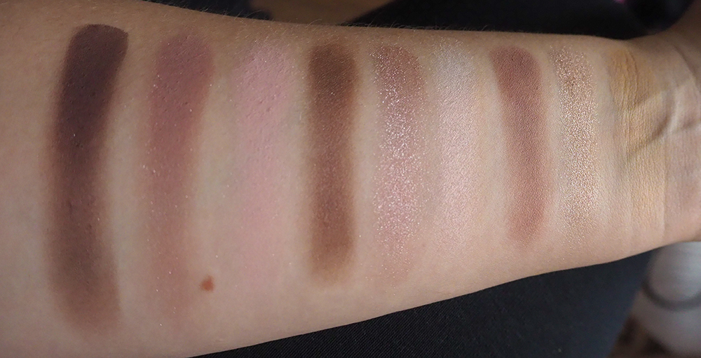 Dior Backstage Eye Palette Cool Neutrals swatches