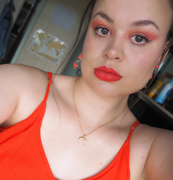 Coral Obsessions eyeshadow look image