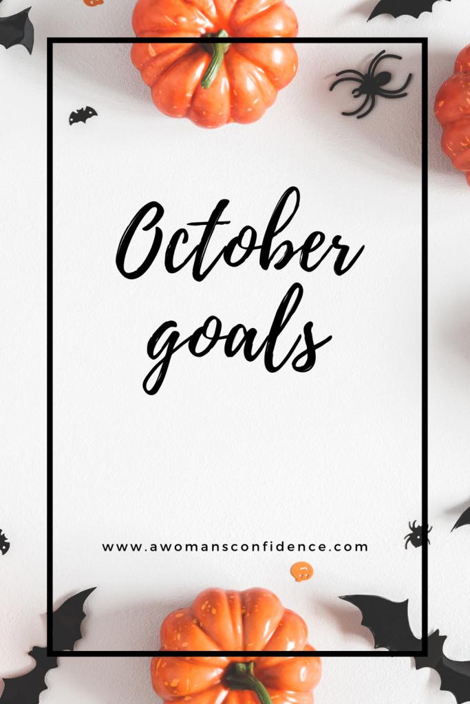 October goals image