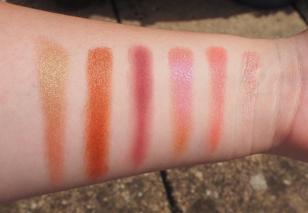 Pat McGrath Rose Decadence Eyeshadow Palette swatches image