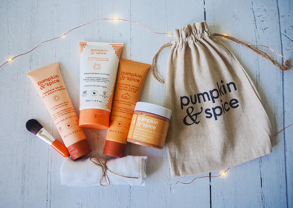 Pumpkin & Spice skincare image