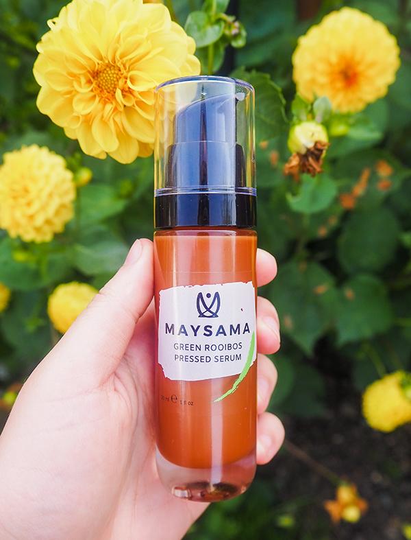 Maysama green tea serum image