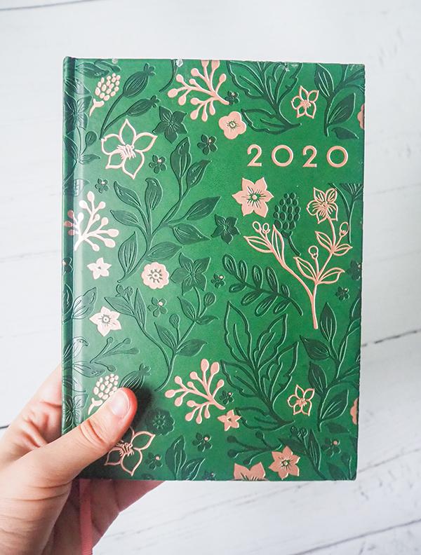 2020 diary image