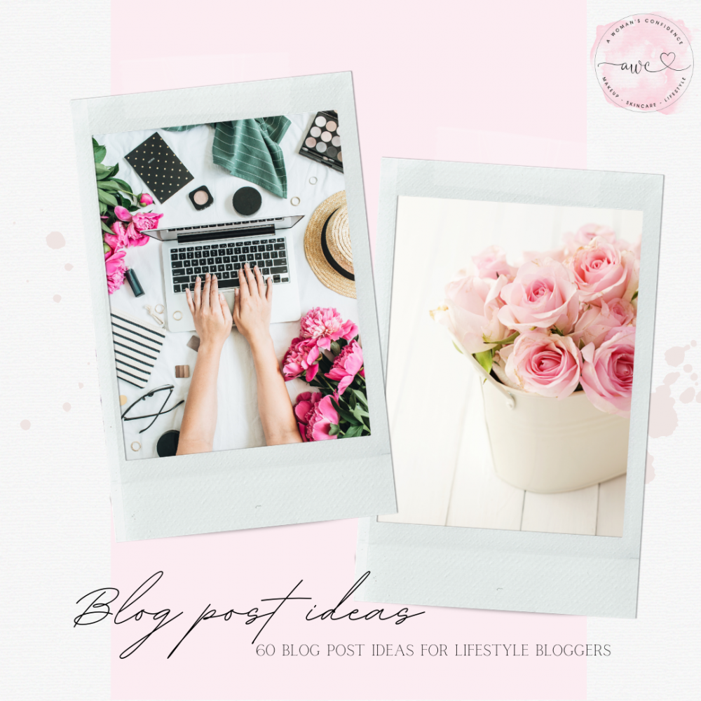 60 brilliant blog post ideas for lifestyle bloggers image