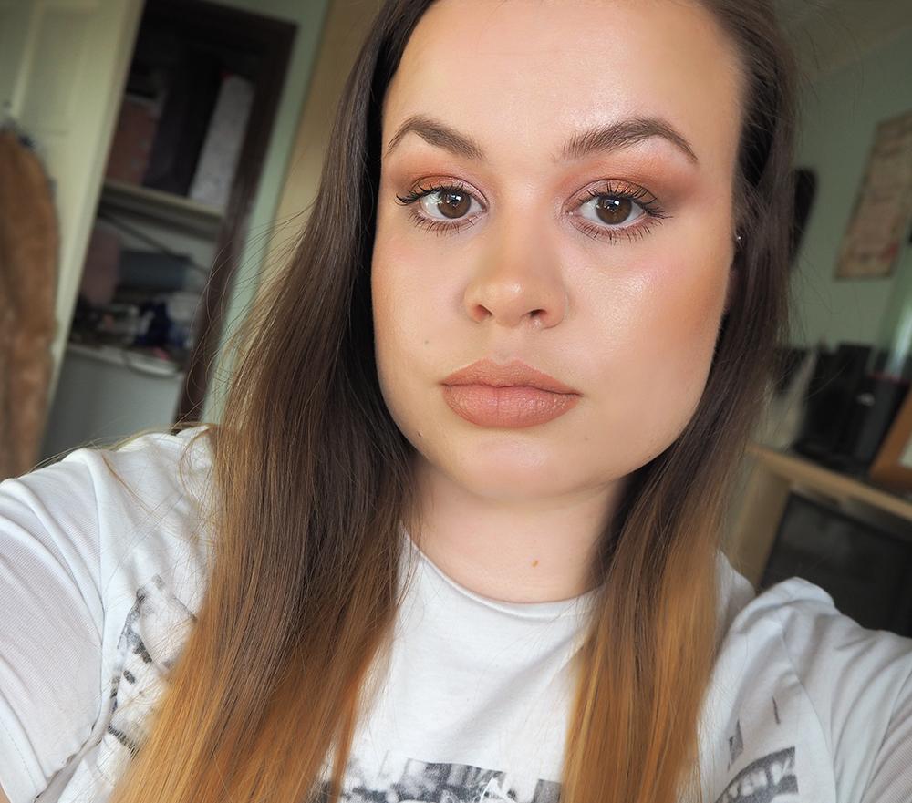 Dewy makeup look image