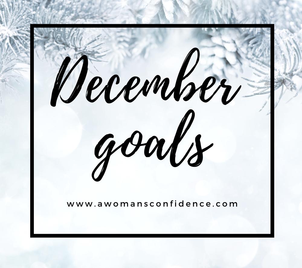 December goals image