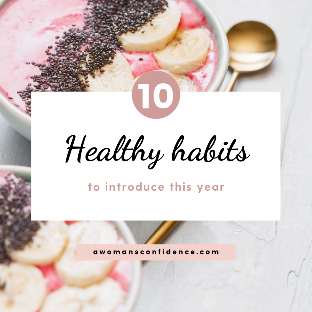 10 healthy habits to introduce this year image
