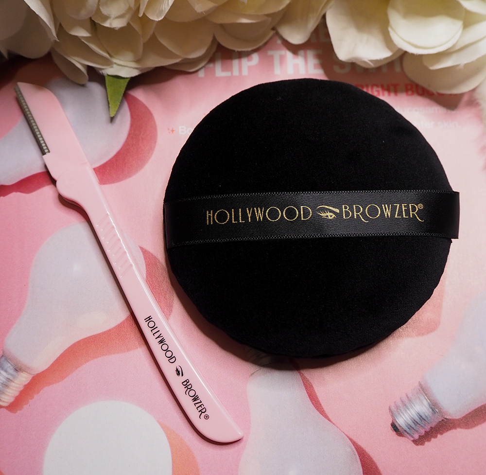 Hollywood Browzer and Deluxe Microfibre Puff image