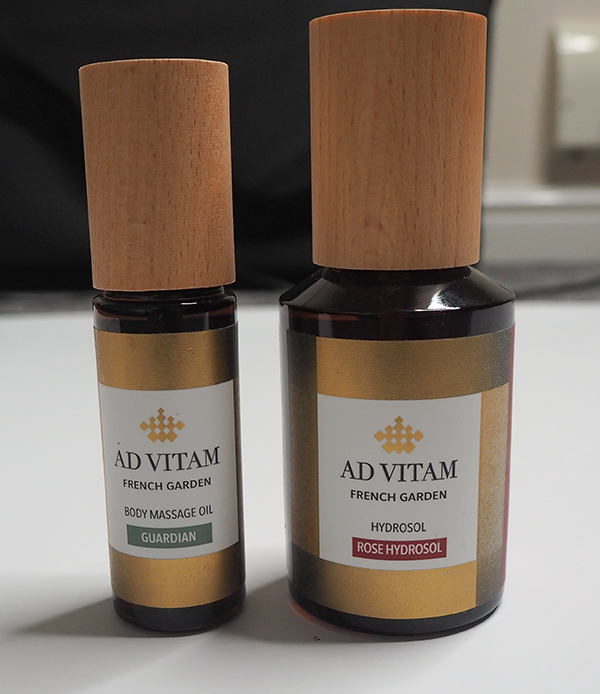 Ad Vitam skincare and wellbeing products image