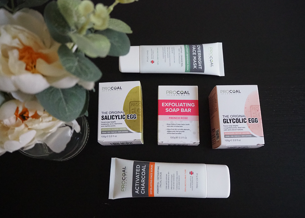 Procoal Skincare products image