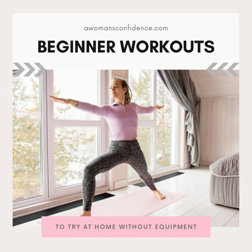 beginner workouts at home without equipment image