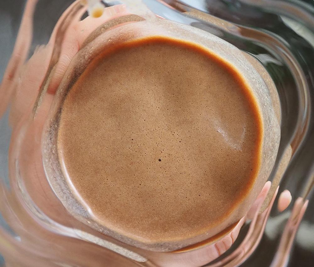 vegan chocolate protein powder image