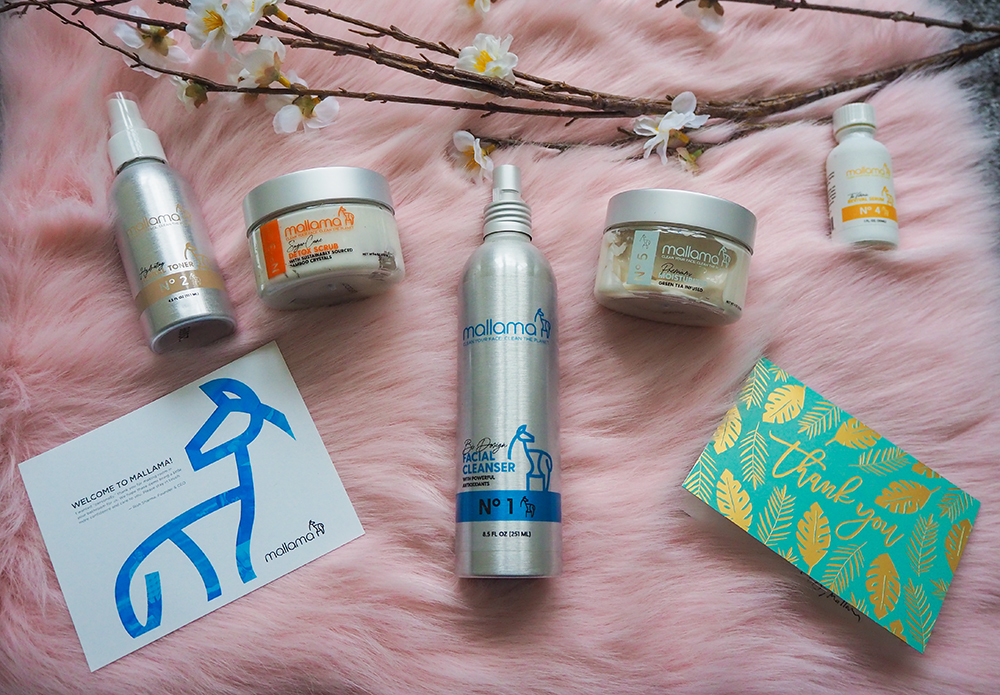 Mallama Skincare products image