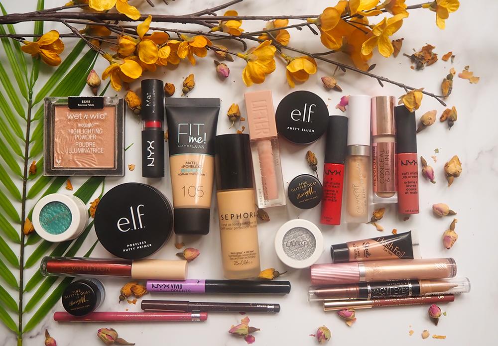 drugstore makeup aesthetic image
