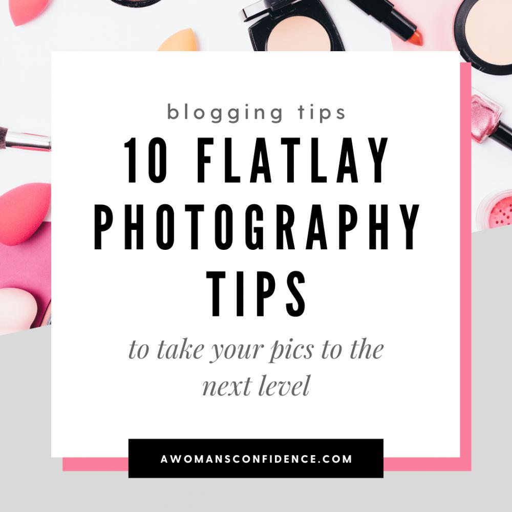 flatlay photography tips image