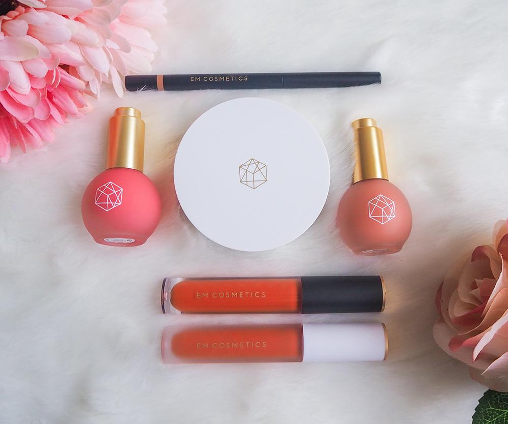 EM Cosmetics haul image