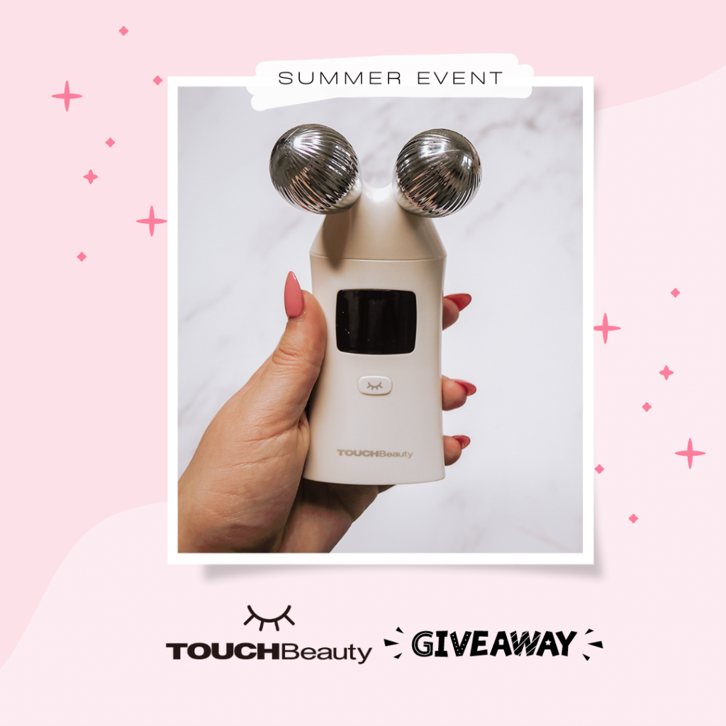 TOUCHBeauty giveaway graphic