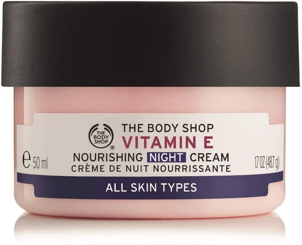 The Body Shop Vitamin E Night Cream image