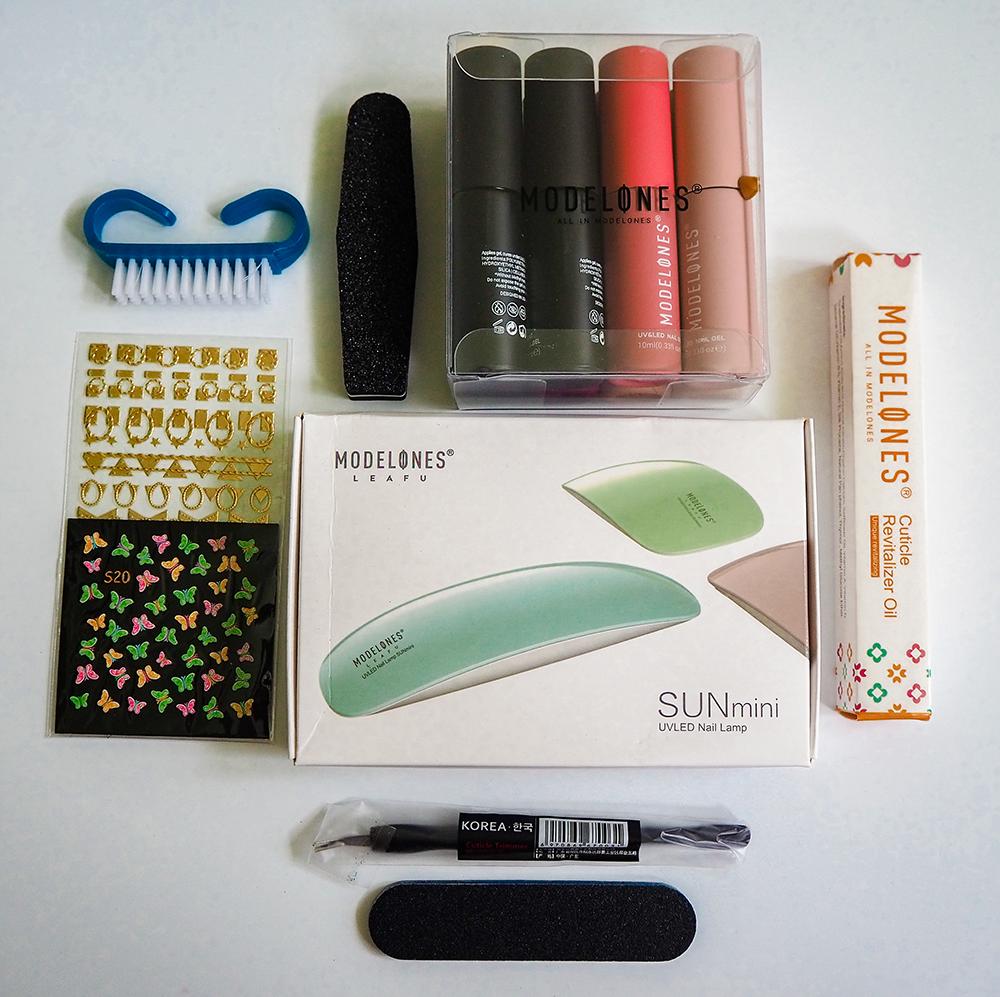 Modelones gel nail kit image