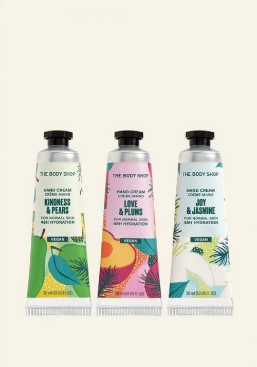The Body Shop Feels & Festivity Hand Cream Trio image