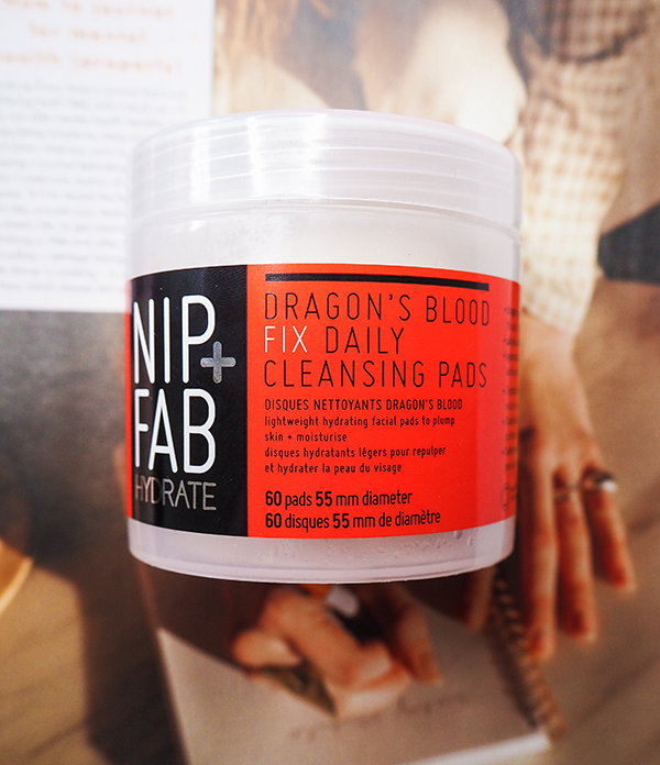 Nip + Fab Dragon's Blood Fix Cleansing Pads review image