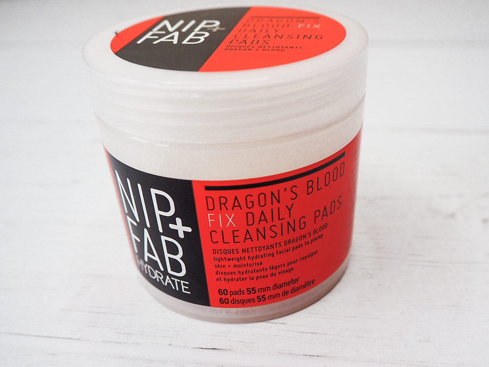 Nip and Fab dragon's blood cleansing pads image