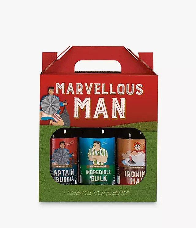 Cottage Delight Marvellous Man Craft Beer Set image